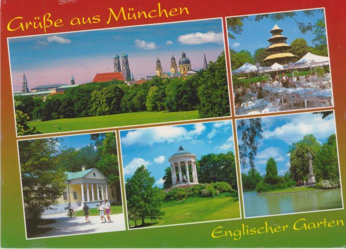 Germany, The English Garden - Munchen