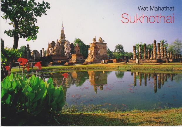Thailand - Wat Mahathat Sukhotai (1)